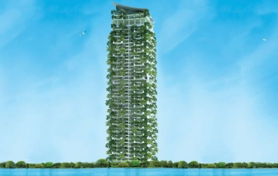 "Case Study: ""The World's Tallest Vertical Garden in Sri Lanka chose AluK products"""